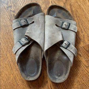 Beige Birkenstock Sandals